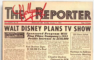 Image result for disneyland tv show 1954
